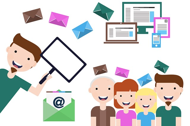 email marketing, lista de emails