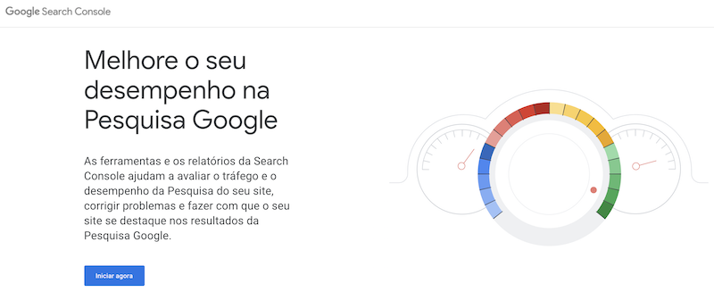 google search console, submeter site no google search console