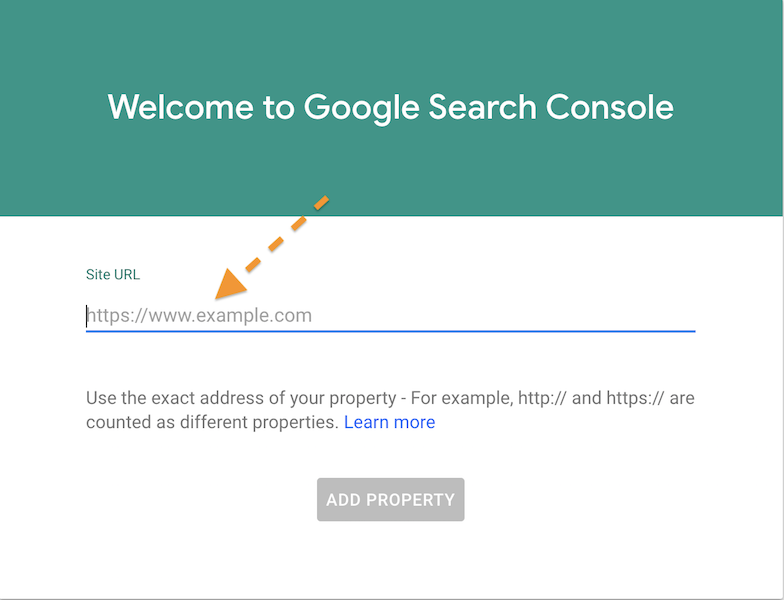 google search console, indexar website no google, submeter site no google
