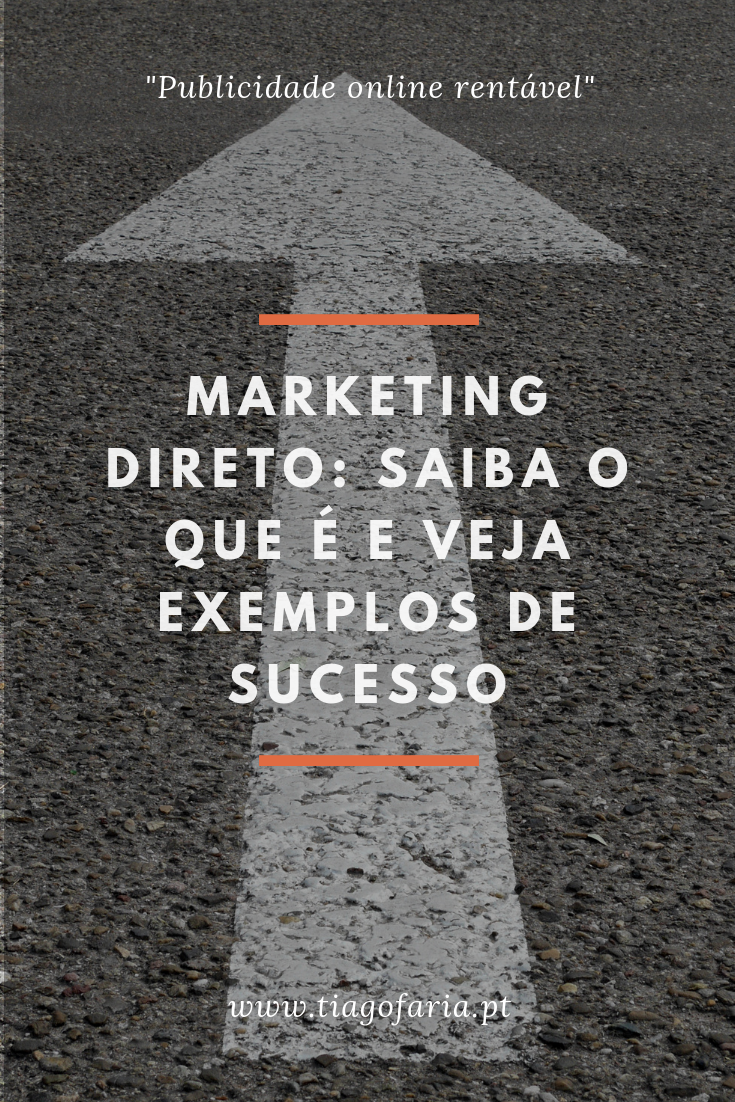 marketing direto, marketing direto o que é, marketing direto exemplos