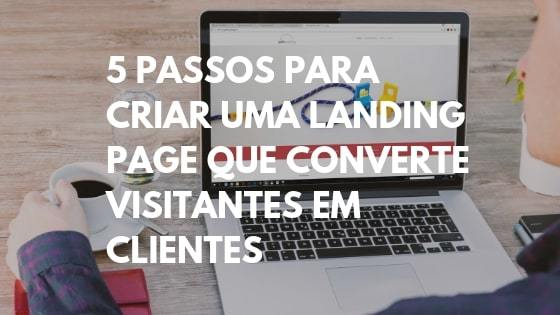 criar landing page, landing page template, landing page que converte