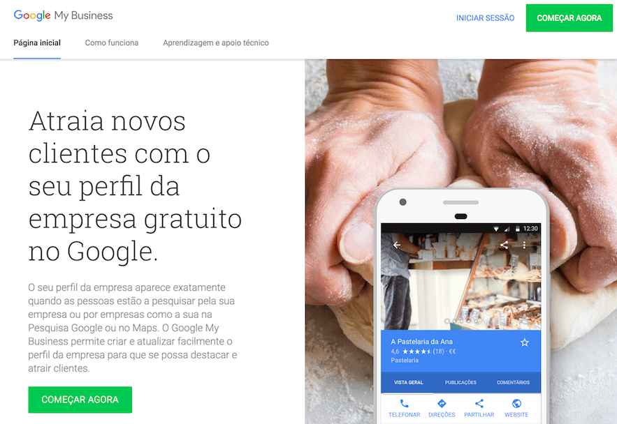 google my business, google empresa