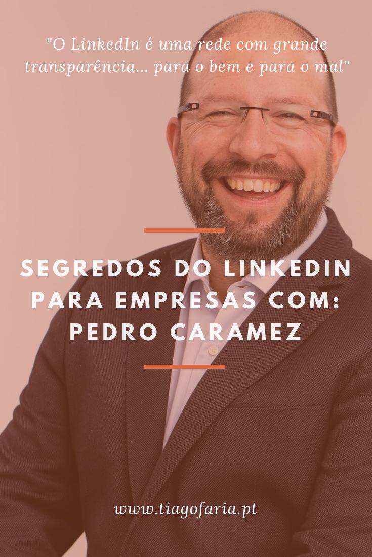 segredos do linkedin para empresas com pedro caramez