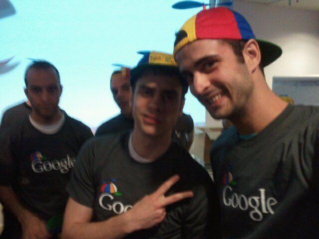 O final da formação para começar a trabalhar na Google
