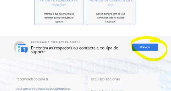 Centro de Ajuda do Facebook Business - Chat